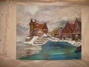 Snowy Dorf. Mari Carmen-Serrano