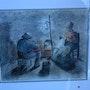 Soirée d'hiver (en hommage à Millet jf). Laure Appendini.