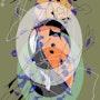 Soundtrack 2 - limitadas gráfico original - Jacqueline_Ditt. Universal Arts Galerie Studio Gmbh