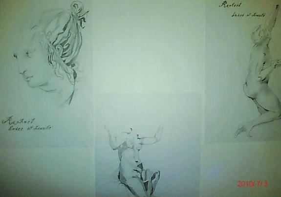 Raphael Anmut und Schönheit.  Sabrina Aissani