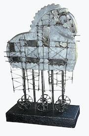 Trojanisches Pferd. Pierre Andreu