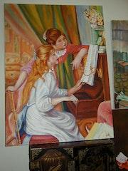 Girls at the Piano.