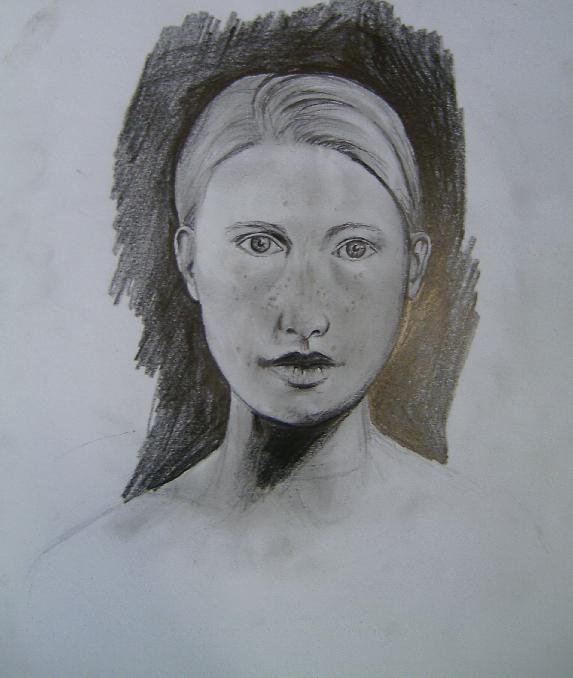 Retrato de mujer. Pauline Winkelmann Pauline Winkelmann