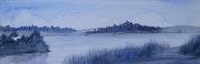 Blue Landscape.