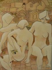 Weiblichkeit skulpturalen.