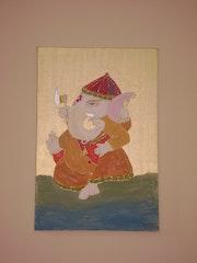 Ganesha dios hindu. Mirta Evi