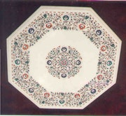 Beutiful inlay table. Marble Inn & Handicraft