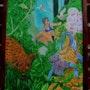 Chica en la selva. Galerie Nouvel Art