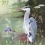Heron Pond à un. Gerhard Winkelmann
