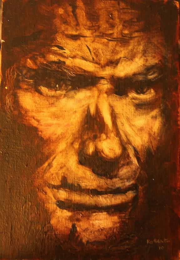 Porträt eines Mannes. Robert Lefebvre Robert Lefebvre