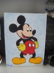 Mickey d'après Walt Disney.