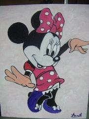 Minnie d'après Walt Disney.