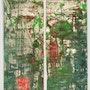 Contemplation4, kakemono dos pequeños paneles. Baron Samdi