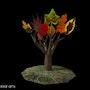 Leaves 1 - limited originalgraphic - Mario Strack. Universal Arts Galerie Studio Gmbh