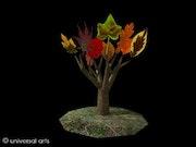 Leaves 1 - limitierte Original Grafik - Mario Strack. Universal Arts Galerie Studio Gmbh