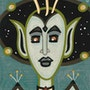 Fred from Outer Space - original painting - Jacqueline_Ditt. Universal Arts Galerie Studio Gmbh