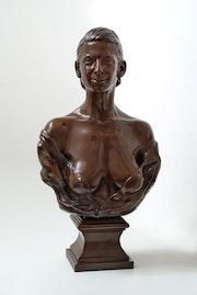 Señora y. Laurent Mallamaci Sculpteur