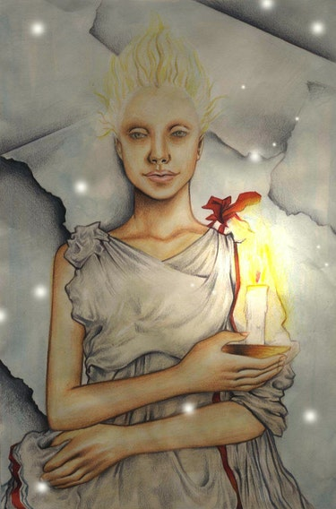 Angel gegen Papier. Mary Ibeh
