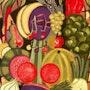 Natures Variety - original painting - Jacqueline_Ditt. Universal Arts Galerie Studio Gmbh