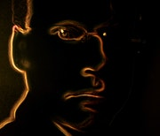 Self-portrait - que llorar en mi corazón. Val Gerbaud