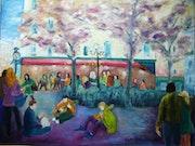 Place de la Contre in Paris.