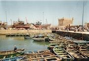The port of Essaouira.