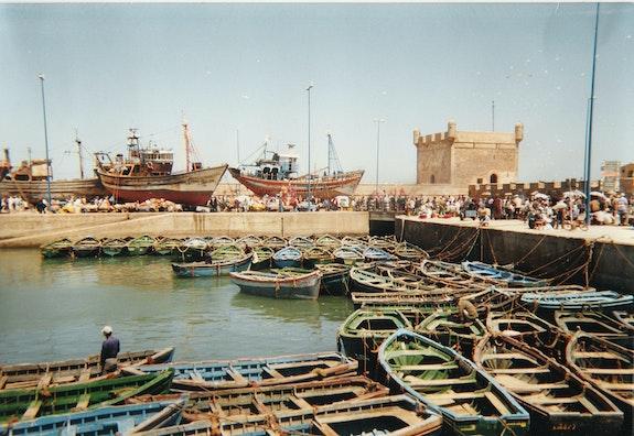 El puerto de Essaouira. Siobhane Siobhane Photos