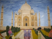 Taj mahal gift for eternity. Simone Monnain