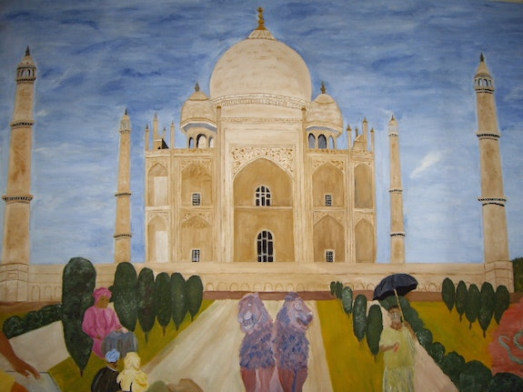 Taj mahal gift for eternity. Randuineau Simone Monnain