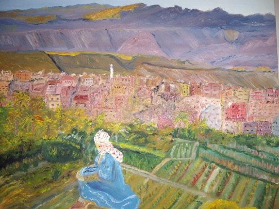 Festival of colors in the High Atlas. Randuineau Simone Monnain