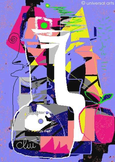 Stilllife - limited original graphic - Jacqueline_Ditt. Jacqueline Ditt Universal Arts Galerie Studio Gmbh