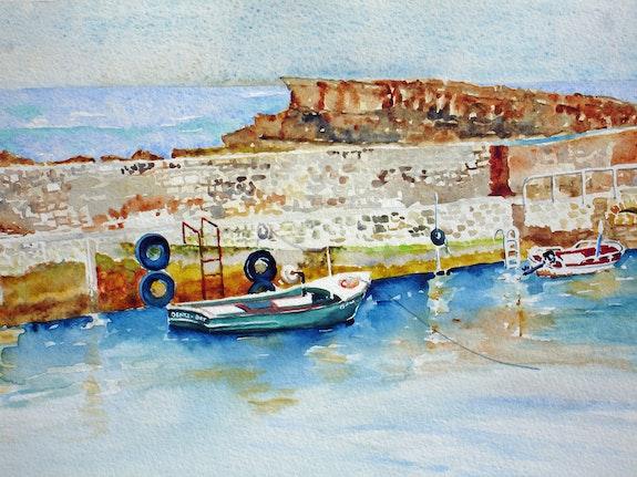 Der Hafen Vieux Biarritz. Patrice Castillejos Pat