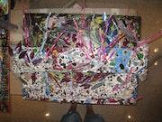 Cuadros en 4d es una nueva manera de pintar una cosa genial el cuadro sale del c. Ramon Bokeras