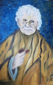 Busto de un viejo. Bernard Sutter