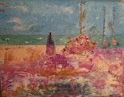 Sonntag auf dem Meer. Caroline Vidican