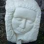 Sculptures en pierre…. Hélène D'Aguano