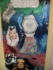 El reloj surrealista. Tanja Meyer