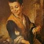Niño con perro (copia). Sebas