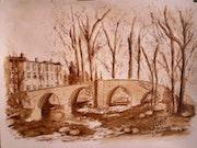 Pont de saint pons 10km d'aix en provence.