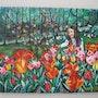 En el Parc Floral de París. Mathilde Grillo