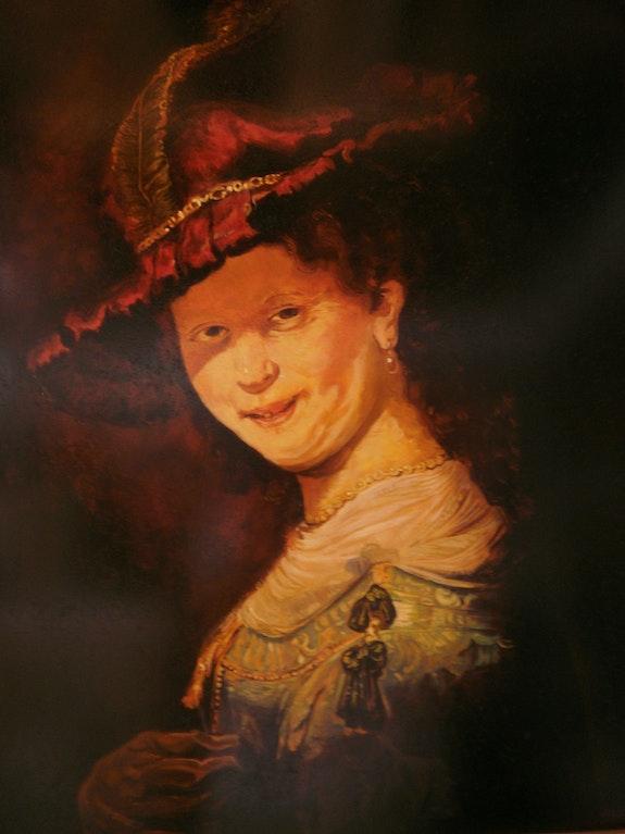 Saskia (Rembrandt's wife) (copy). Sebastian Martin Constanza Sebas