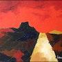 Abstracción - óleo sobre lienzo 6f. Artiste Peintre/Laurent