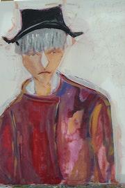 Autoportrait. France Mistre