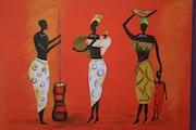 Mujeres Africanas. Karine Guignard