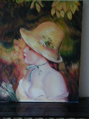 Mädchen mit Hut. Jacob Soussan