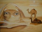 Göttin der Sahara in einem Traum.