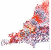 Bird in Brand. Daniel Courgeau