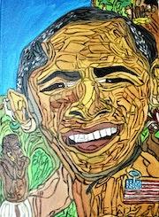 Obamo chez les pigmés, » ou sa vrai nature». 119Studio