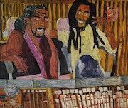 Barry White & Bob Marley.