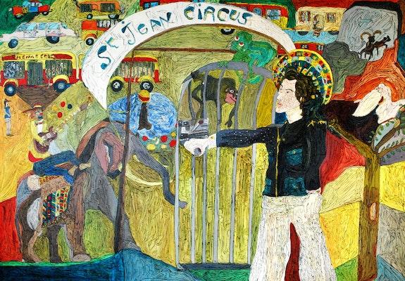 Saint Jean Circus ou «le cirque de st Jean». Eric J. C Paris 119Studio